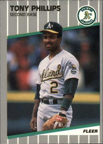 Photo of 1989 Fleer Update #56 Tony Phillips
