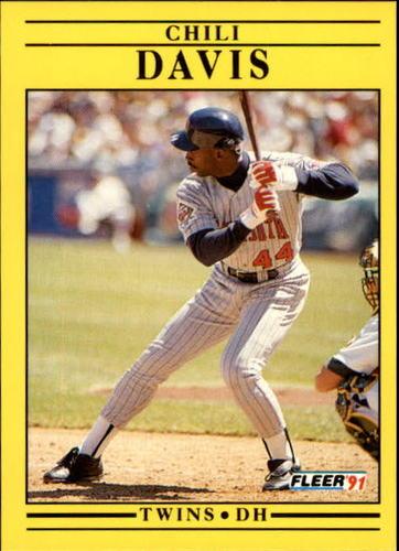 Photo of 1991 Fleer Update #36 Chili Davis