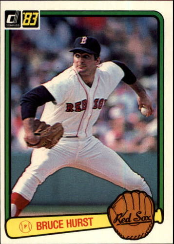 Photo of 1983 Donruss #134 Bruce Hurst
