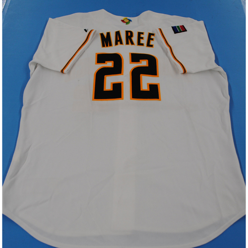 Photo of 2006 Inaugural World Baseball Classic: Gary Maree Game-worn Team South Africa Home Jersey