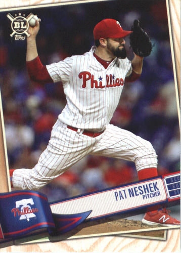 Photo of 2019 Topps Big League #243 Pat Neshek