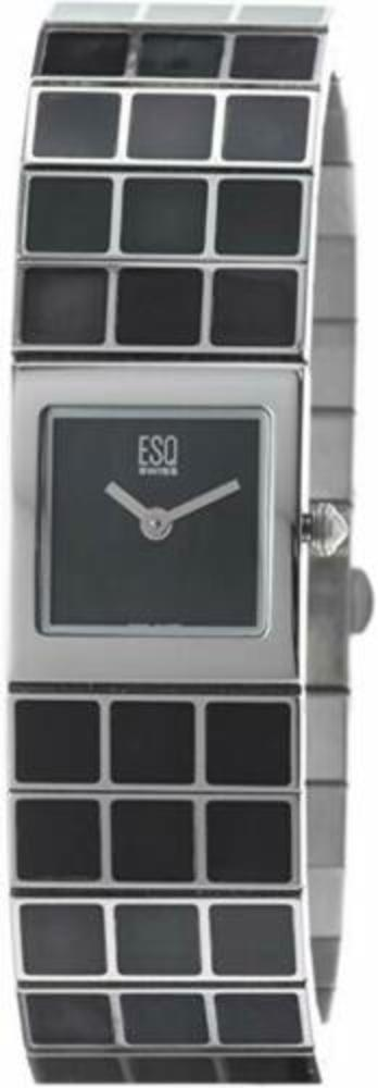 Photo of ESQ by Movado Women's Roxanne Black Mother of Pearl Stainless Steel Watch