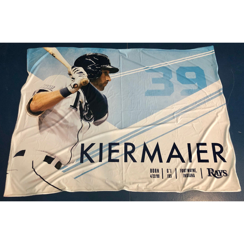 Photo of Rays Baseball Foundation: Team Issued Banner - Kevin Kiermaier