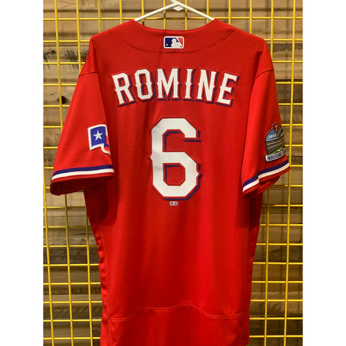 Austin Romine Team-Issued Red Jersey