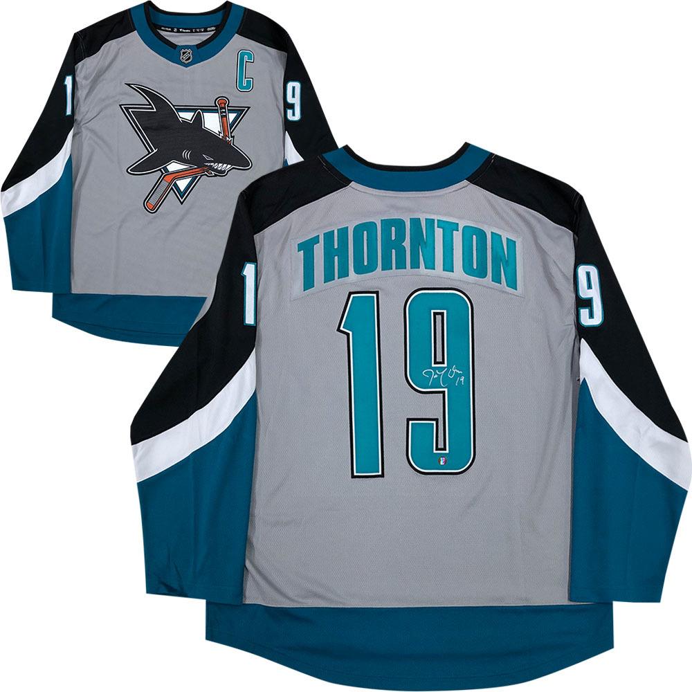 Joe Thornton Autographed San Jose Sharks Special Edition Fanatics Jersey