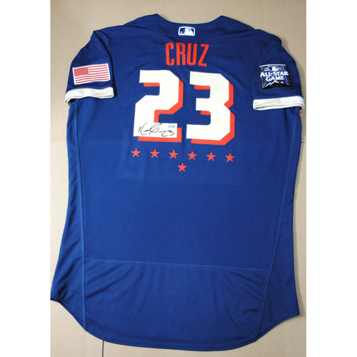 Photo of Nelson Cruz 2021 Major League Baseball All-Star Game Autographed Jersey