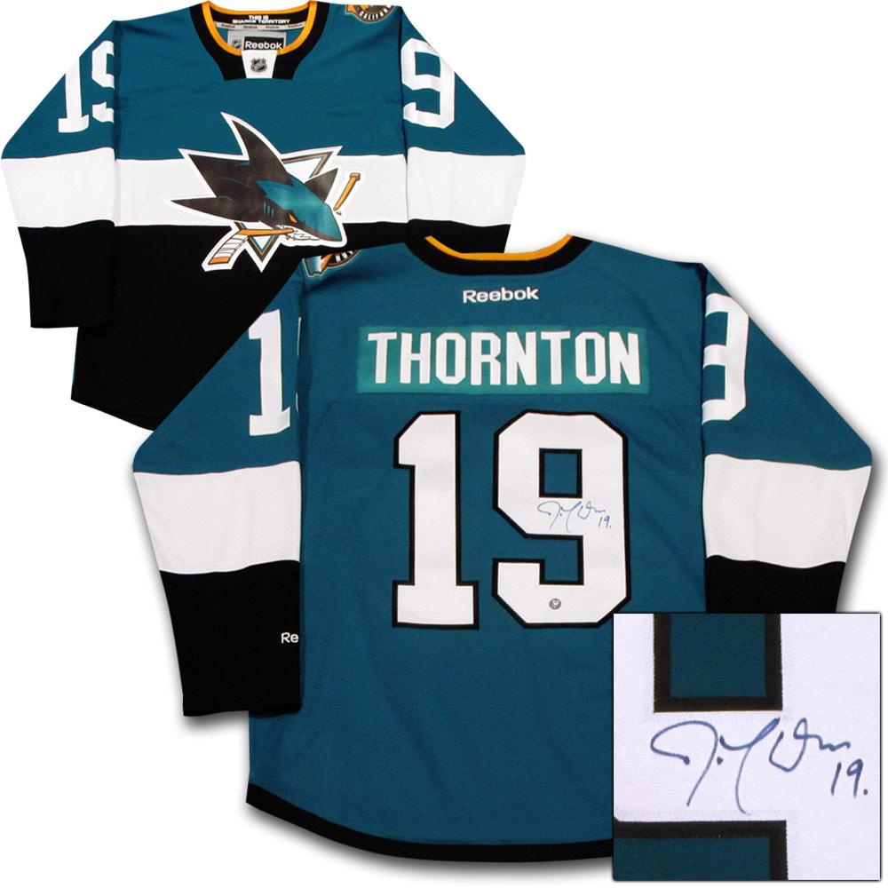 Joe Thornton Autographed San Jose Sharks 2015 NHL Stadium Series Jersey