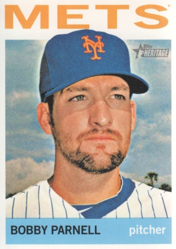 Photo of 2013 Topps Heritage #387 Bobby Parnell