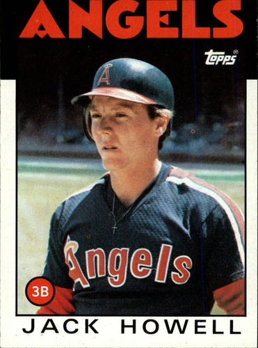 Photo of 1986 Topps #127 Jack Howell
