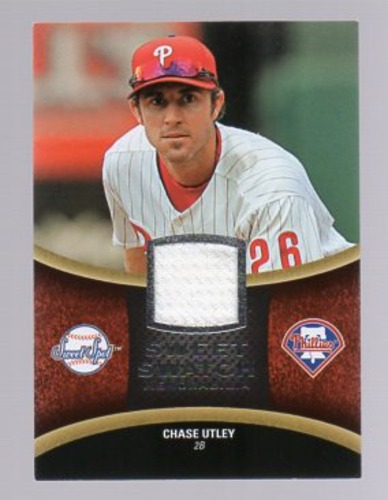 Photo of 2008 Sweet Spot Swatches #SCU Chase Utley