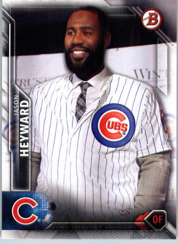 Photo of 2016 Bowman #82 Jason Heyward