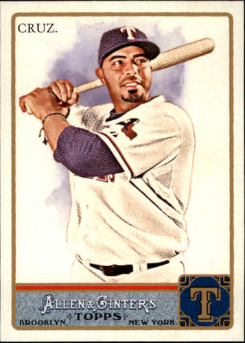 Photo of 2011 Topps Allen and Ginter #25 Nelson Cruz