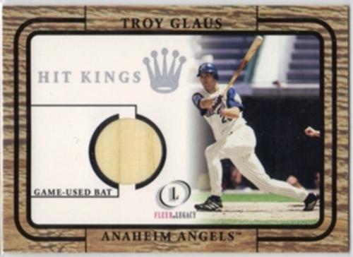 Photo of 2001 Fleer Legacy Hit Kings #12 Troy Glaus