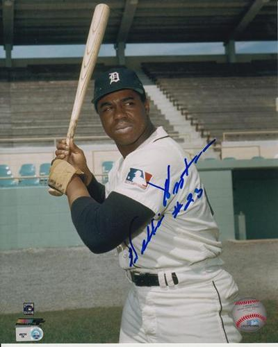 Photo of Willie Horton Autographed 8x10