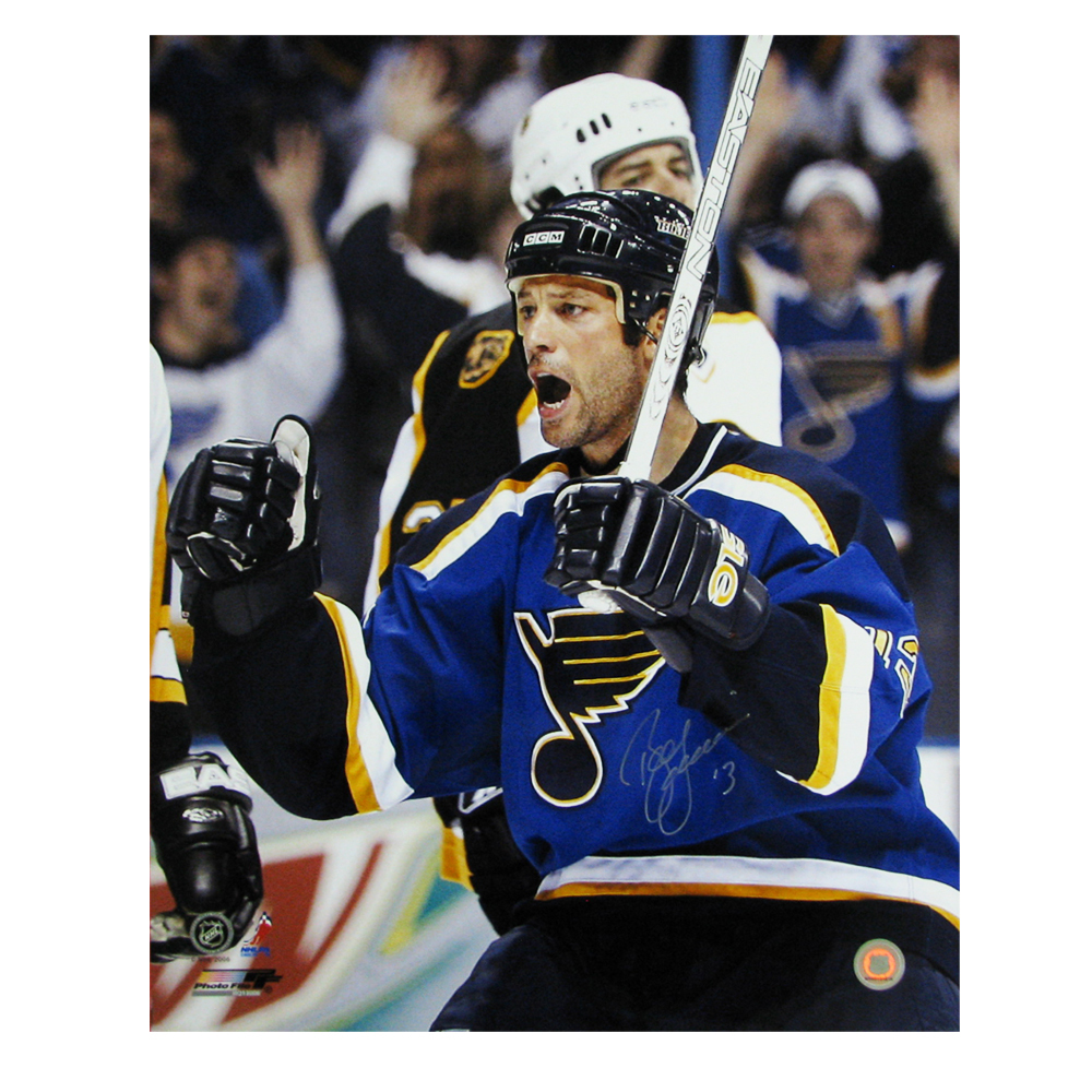 BILL GUERIN Signed St. Louis Blues 16 X 20 Photo -79034