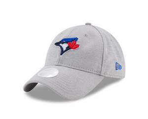 Toronto Blue Jays Youth Sporty Sleek Grey Adjustable Cap by New Era
