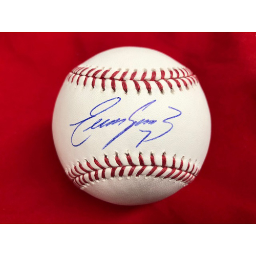 Photo of Eugenio Suarez -- Autographed Baseball