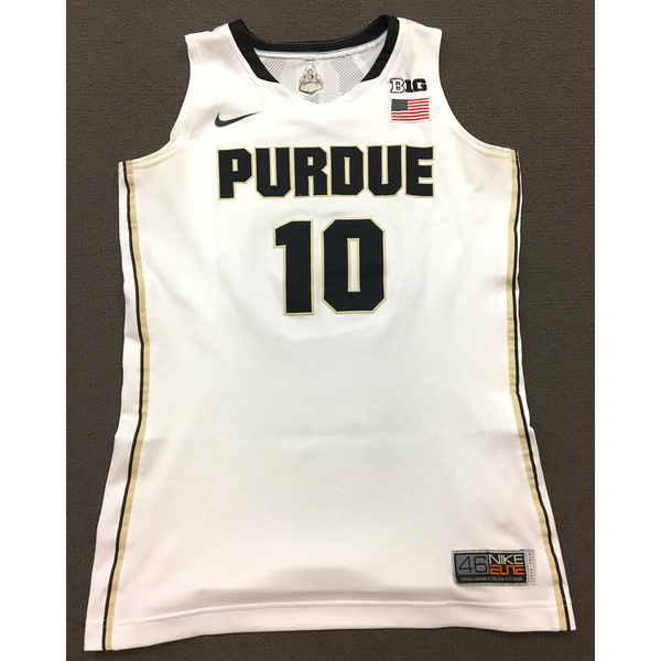 Photo of Hamby #10 Purdue Women's Basketball 2014-15 White Jersey