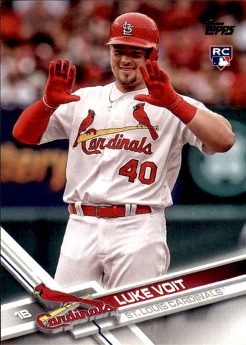 Photo of 2017 Topps Update #US281 Luke Voit Rookie Card