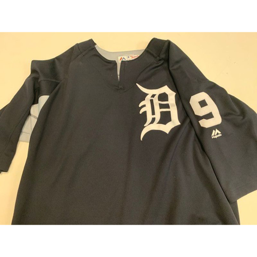 Photo of Team-Issued #9 Home Batting Practice Jersey