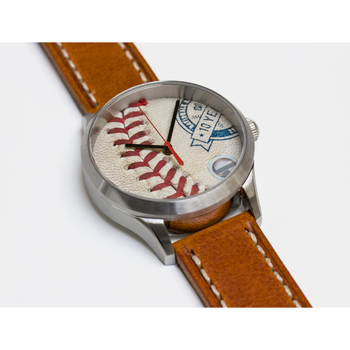 Photo of Tokens & Icons Washington Nationals 2015 10 Year Anniversary Game Used Baseball Watch
