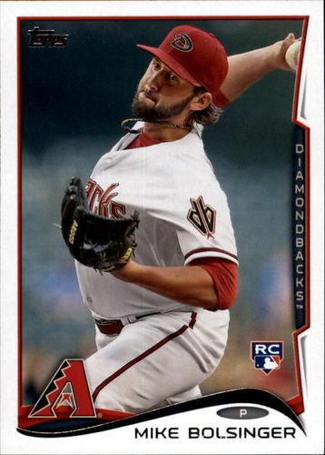Photo of 2014 Topps Update #US287 Mike Bolsinger RC