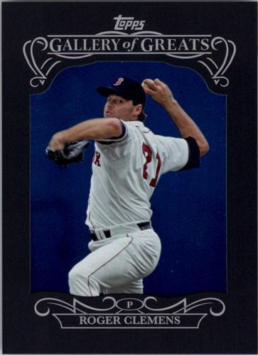 Photo of 2015 Topps Gallery of Greats #GG8 Roger Clemens
