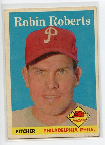 Photo of 1958 Topps #90 Robin Roberts