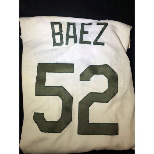 Photo of Pedro Baez Authentic Game-Used 2018 Memorial Day Los Angeles Dodgers Jersey