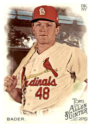 Photo of 2019 Topps Allen and Ginter #286 Harrison Bader