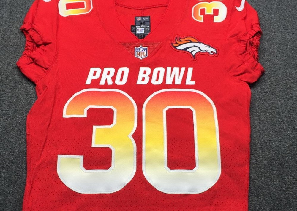 cheaper df27a ba9f3 NFL Auction | NFL - Broncos Phillip Lindsay Game Issued 2019 ...