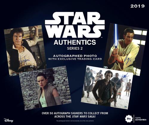 '19 Blind Pack Series 2 - Star Wars Authentics