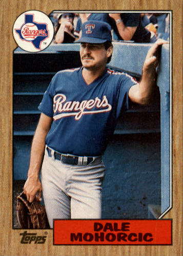 Photo of 1987 Topps #497 Dale Mohorcic