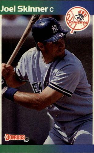 Photo of 1989 Donruss #427 Joel Skinner