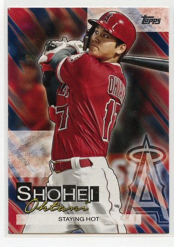 Photo of 2019 Topps Update Shohei Ohtani Highlights #SO2 Shohei Ohtani