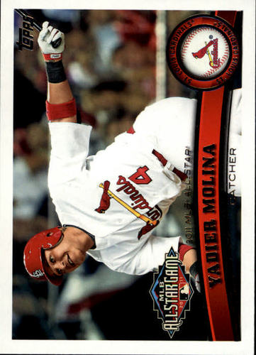Photo of 2011 Topps Update #US268 Yadier Molina