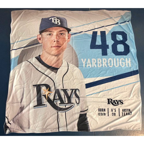 Photo of Rays Baseball Foundation: Team Issued Banner - Ryan Yarbrough