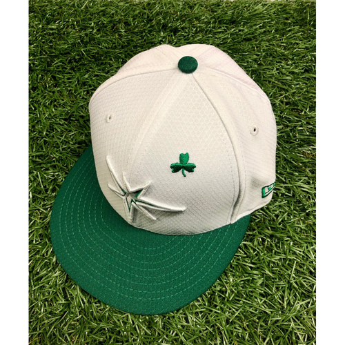 Photo of Team Issued St. Patrick's Day Cap: Daniel Robertson #28 - March 26, 2019 v DET