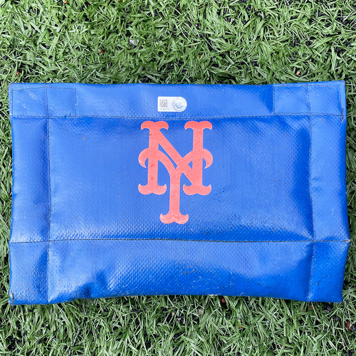 Photo of Team Issued Mets Pine Tar Rag - 2020 Season