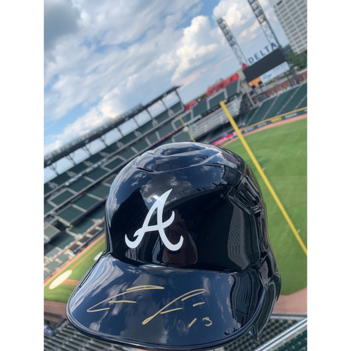 Photo of Ronald Acuna Jr. MLB Authenticated Autographed Helmet