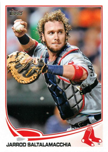Photo of 2013 Topps #301 Jarrod Saltalamacchia