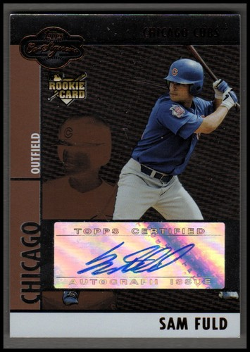 Photo of 2008 Topps Co-Signers Silver Bronze #104 Sam Fuld AU