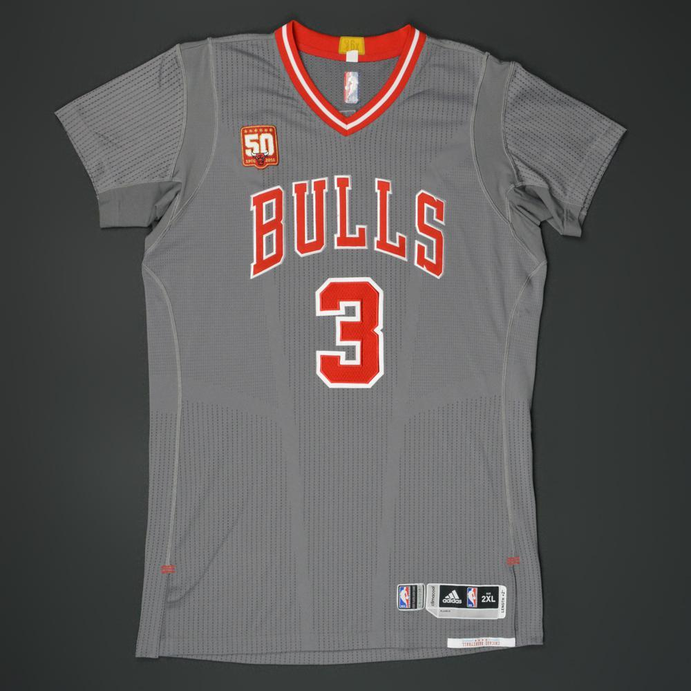 ea4a7e752b6 Doug McDermott - Chicago Bulls - Game-Worn Pride Jersey w 50th Anniversary  Patch