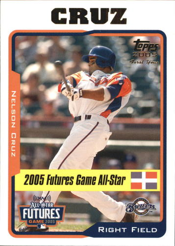 Photo of 2005 Topps Update #206 Nelson Cruz Rookie Card