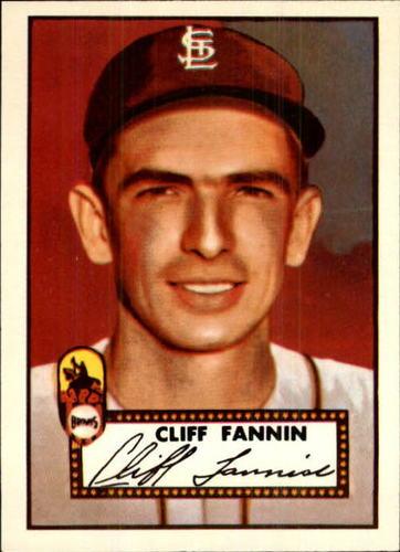 Photo of 1983 Topps 1952 Reprint #285 Cliff Fannin