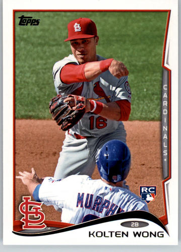 Photo of 2014 Topps #46A Kolten Wong  Rookie Card