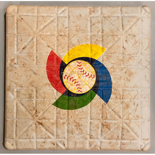 Photo of 2013 World Baseball Classic Game Used Base- 1st Base (Innings 1-9) (United States vs Canada)