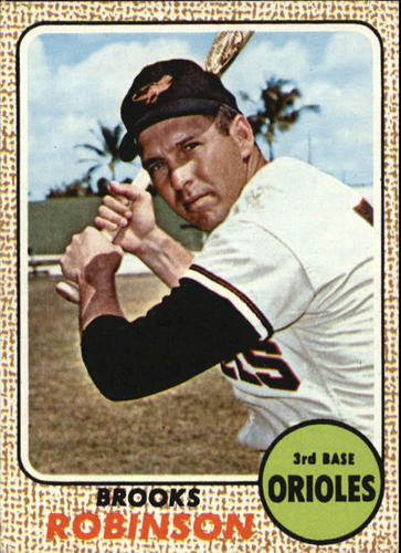 Photo of 1968 Topps #20 Brooks Robinson