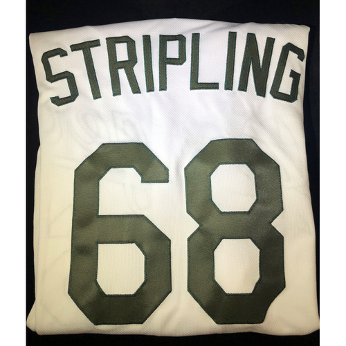 Photo of Ross Stripling Authentic Team-Issued 2018 Memorial Day Los Angeles Dodgers Jersey