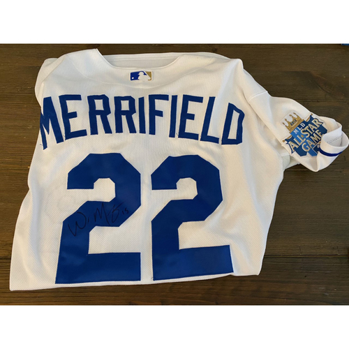 Photo of Whit Merrifield's Royals Respond Auction: Autographed Fall League Jersey (Size - 46) (NOT MLB AUTHENTICATED)